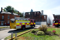 St Crispins Fire 7th August 2014