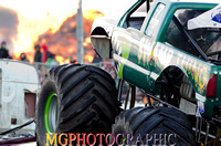 Flame & Thunder,Santa Pod, 27th Oct 2012