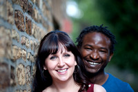 Laura and Fungai, 18th August 2013